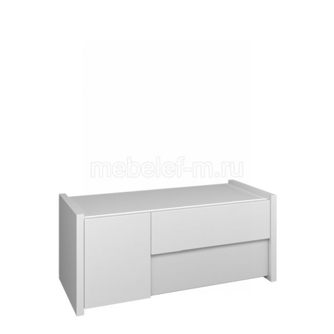 Белый комод Мебелеф 66