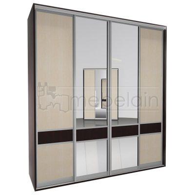 Шкаф купе Мебелайн 3