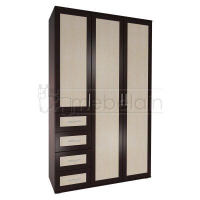 Шкаф распашной Мебелайн 15
