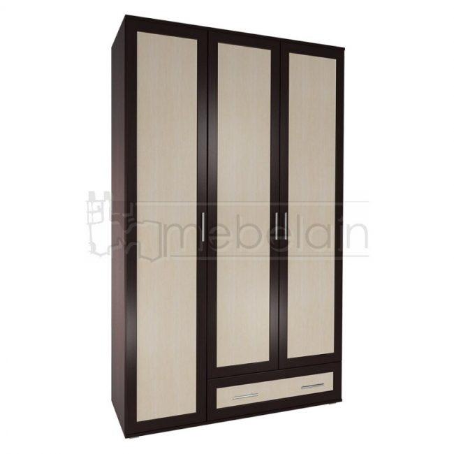 Шкаф распашной Мебелайн 16