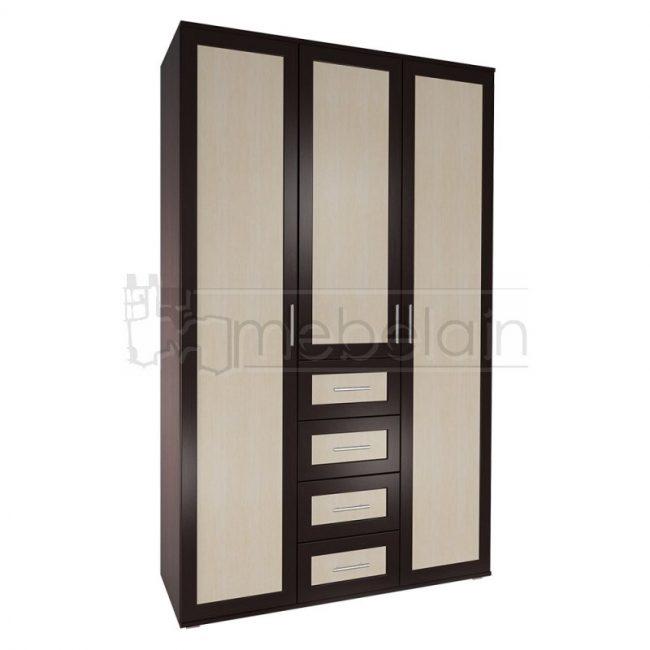 Шкаф распашной Мебелайн 21