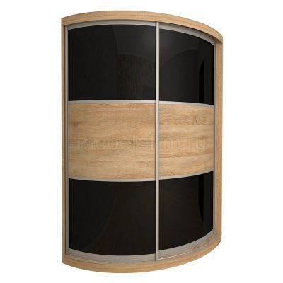 радиусный шкаф купе Мебелеф 12