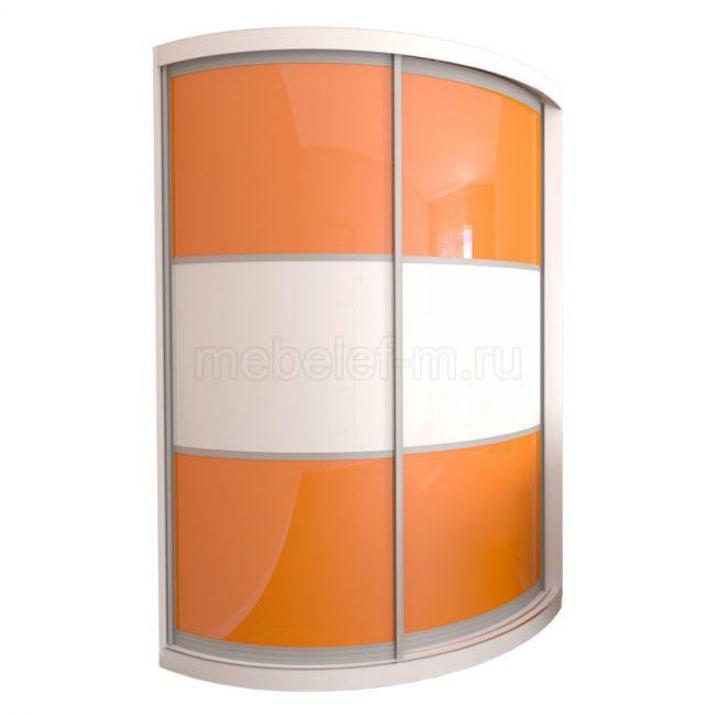радиусный шкаф купе Мебелеф 13
