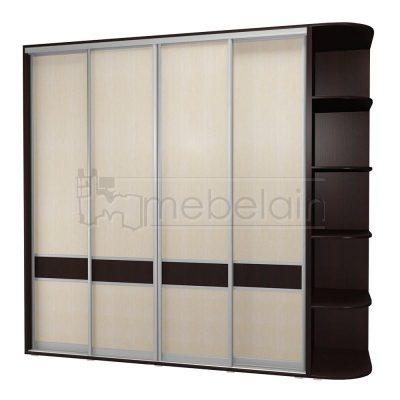 Шкаф купе Мебелайн 14 без зеркала