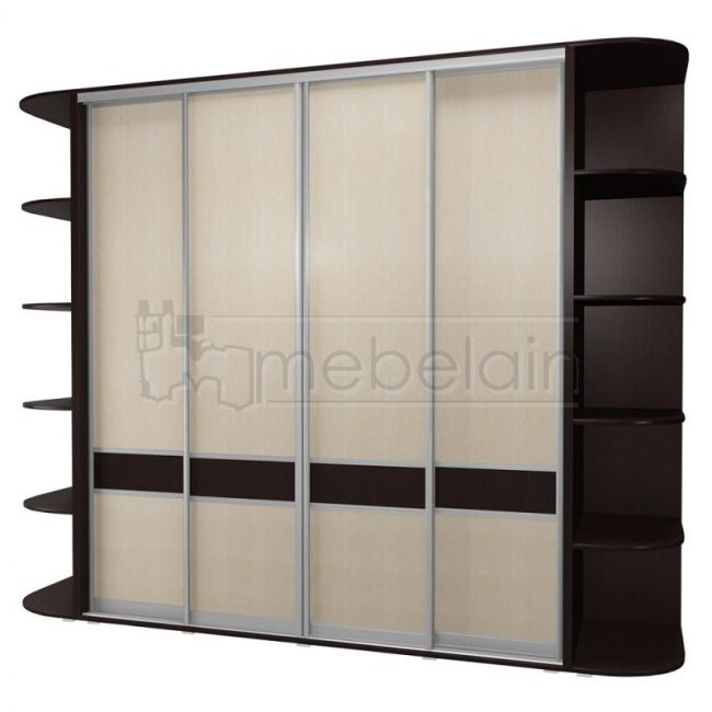Шкаф купе Мебелайн 15 без зеркала