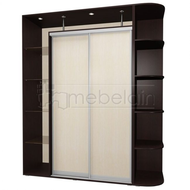 Шкаф купе Мебелайн 16 без зеркала