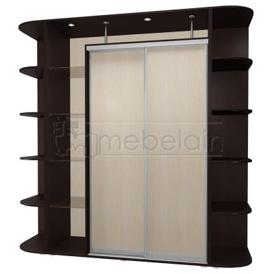 Шкаф купе Мебелайн 17 без зеркала