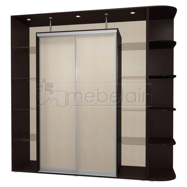Шкаф купе Мебелайн 18 без зеркала