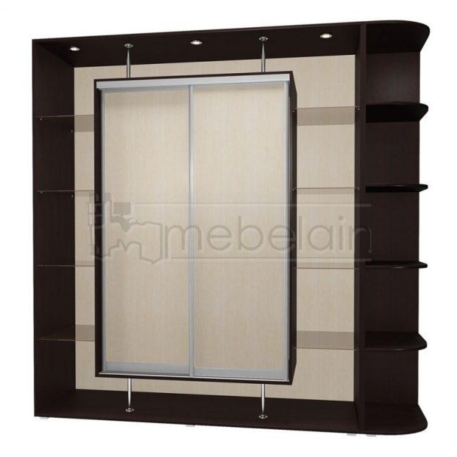 Шкаф купе Мебелайн 20 без зеркала