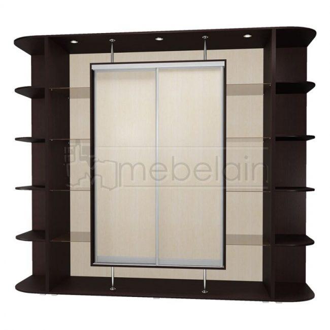 Шкаф купе Мебелайн 21 без зеркала