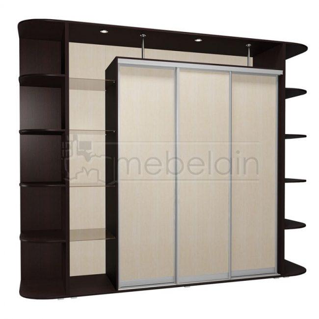 Шкаф купе Мебелайн 23 без зеркала