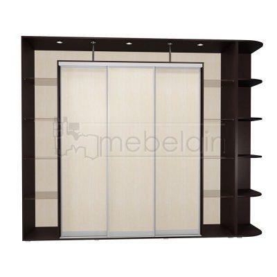 Шкаф купе Мебелайн 24 без зеркала