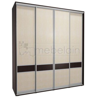 Шкаф купе Мебелайн 3 без зеркала
