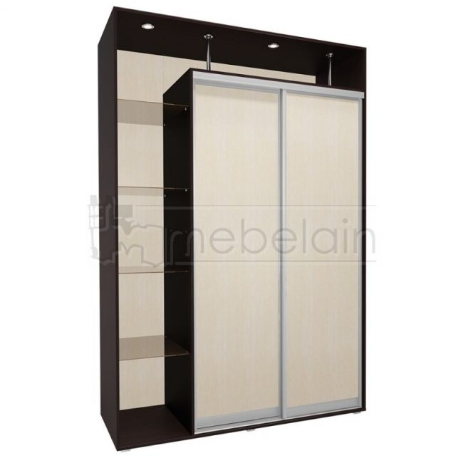 Шкаф купе Мебелайн 4 без зеркала