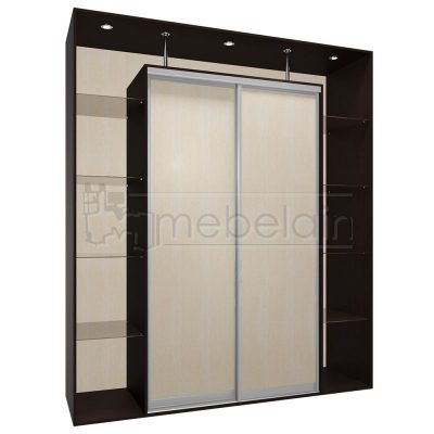 Шкаф купе Мебелайн 5 без зеркала
