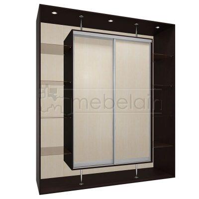 Шкаф купе Мебелайн 6 без зеркала