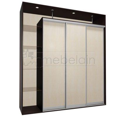 Шкаф купе Мебелайн 7 без зеркала