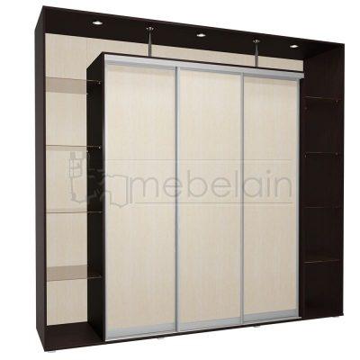 Шкаф купе Мебелайн 8 без зеркала