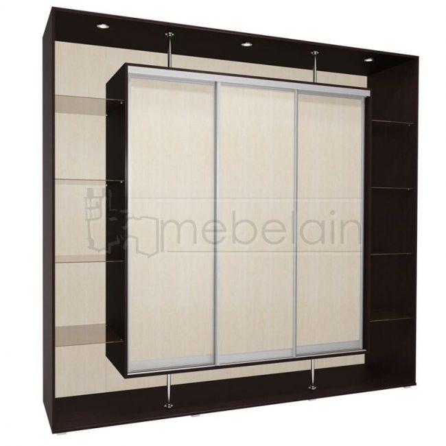 Шкаф купе Мебелайн 9 без зеркала